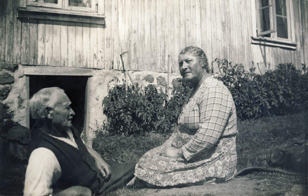 Ole Lauritz (Louis) og Constance Jensen